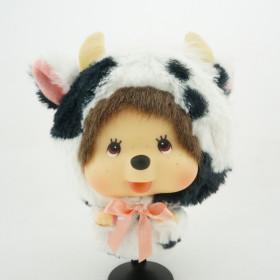 Monchhichi 北海道乳牛男孩掛件