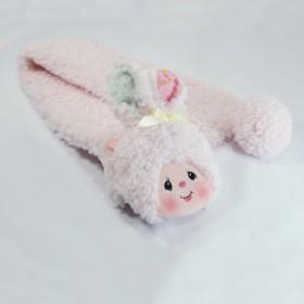 Monchhichi 兔子頸巾