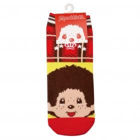Monchhichi 紅黃襪子