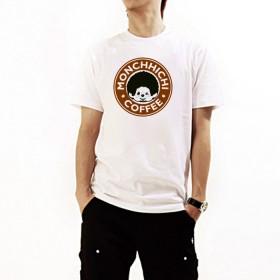 Monchhichi 咖啡T-Shirt(中碼)
