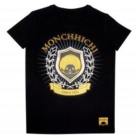 Monchhichi 徽章T恤 (S碼)