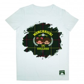 Monchhichi 格仔T恤 (XS碼)