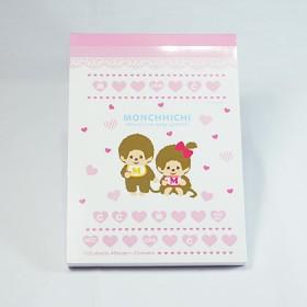Monchhichi 愛心系列-A6便條紙