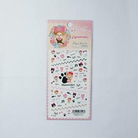 Monchhichi 月亮少女貓美甲貼紙