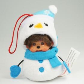 Monchhichi 雪人男孩聖誕掛件